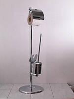Аксессуары для ванной, стойка для туалета JE-387 Aqualine (хром)