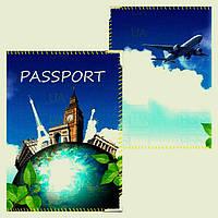"""Обложка на паспорт """"Вокруг света"""""""