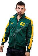 Зелёная подростковая спортивная кофта PUMA размеры XXS XS