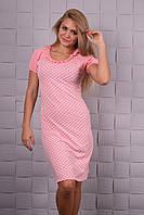 Очаровательная розовая ночная сорочка
