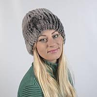 Женская шапка из натурального меха - Кролик (код 29-272)