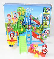 Щенячий патруль парк развлечений игровой набор игрушки с горкой и качелей