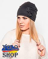 Женская шапка Хлястик № 1 (разные цвета)