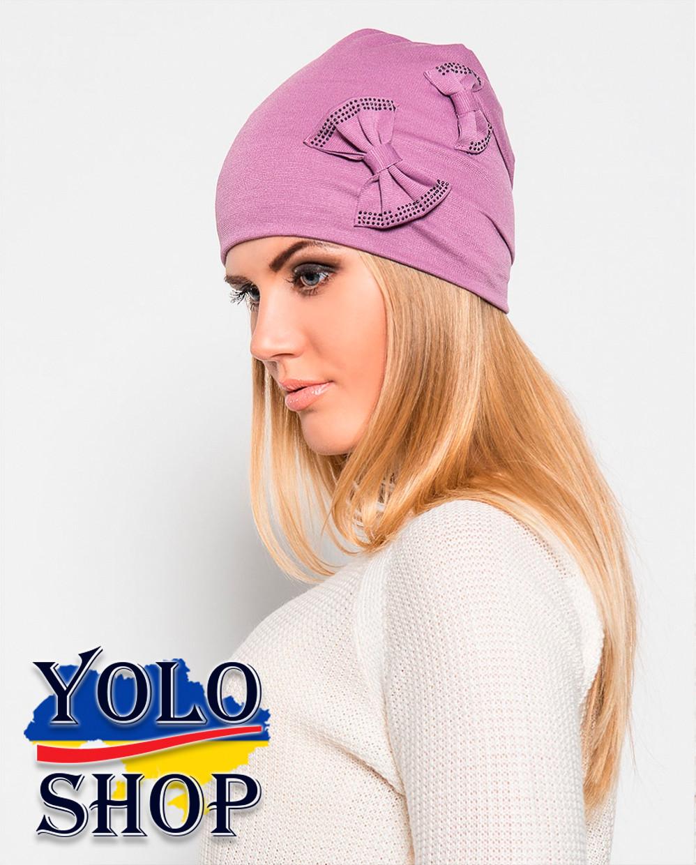 Женские шапки сшитые из трикотажа