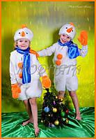 Детские костюмы Снеговички   Карнавальный костюм Снеговика