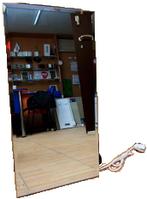 Зеркальная инфракрасная керамическая панель Венеция ПКИТ 300Вт для ванной комнаты 60х30 для ванной, коридора