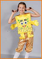 Маскарадный костюм Спанч Боб | Костюм Губка Боб