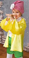 Детский яркий карнавальный костюм Буратино