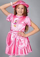 Новогодний детский костюм для девочки Дюймовочка