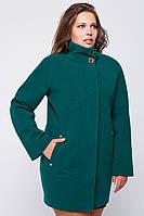 Женское классическое кашемировое пальто | Весна-Осень Зеленое