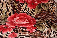 Микрофибра ELWAY евро  Тигровая роза