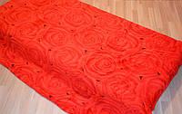 Микрофибра ELWAY евро  Роза красная