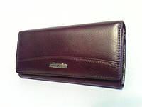Кошелек женский кожаный коричневый 826