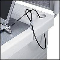 Трос замок защита ноутбука от кражи, 2 ключа 1,1 м Kensington lock