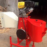 Измельчитель веток, дров, рубильная машина АМ 120 с бензиновым двигателем 13л.с