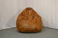 """Бесформенное кресло мешок из искусственной замши """"Кантри"""""""