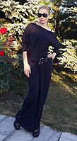 Женское длинное платье из ангоры с открытым плечом Размеры 42-48 NO0411