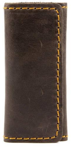 Замечательная ключница из натуральной кожи BLACK BRIER (БЛЭК БРАЕР) КЛ-2М-33 коричневый