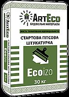 Стратовая гипсовая штукатурка Ecoizo