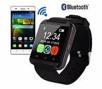 Умные Bluetooth часы с шагомером для смартфонов на базе Android и iOs Smart Watch UWatch U8