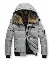 Куртка мужская зимняя пуховик большие размеры