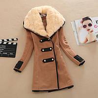 Женское модное зимнее пальто, модель 0340