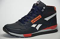 Мужские кожаные зимние ботинки Reebok