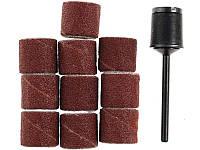 Шлифовальные головки с державкой Proxxon 10 мм 10 штук