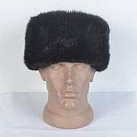 Зимняя шапка из искусственного меха норки