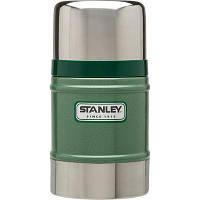 Термос Stanley пищевой Classic 0.5 л Зелений (6939236301459)
