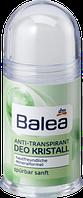 Дезодорант антиперспирант стик для чувствительной кожи Balea Sensitive Deo Kristall