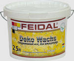 Воск для декоративной штукатурки Dekowachs Feidal 2,5л