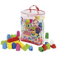 Конструктор с мягкими кубиками Clemmy Plus Clementoni, 14880, 60 деталей, в сумке