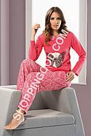 Женская пижама Shirly 5881, домашний костюм с брюками цена со склада