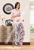 Женская пижама Shirly 5974 для беременных, домашний костюм с брюками цена со склада