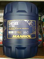 Полусинтетическое масло Mannol Diesel EXTRA (20 литров)