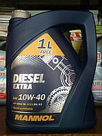 Полусинтетическое масло Mannol Diesel EXTRA (5 литров)
