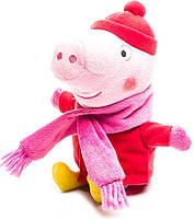 Пеппа в зимней одежде, мягкая игрушка 20 см Peppa (25089)