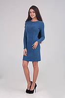 Теплое шерстяное женское платье, фото 1