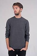 Джемпер мужской  стального цвета, фото 1