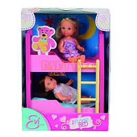 """Кукольный набор """"Еви с двуспальной кроватью"""""""
