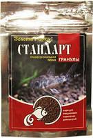 Корм в гранулах для ежедневного кормления донных рыб Стандарт 100мл 40гр