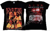 LED ZEPPELIN (концертное фото) - рок-футболка женская