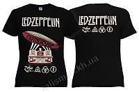 LED ZEPPELIN - Mothership - рок-футболка женская