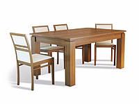 Стол обеденный раскладной Эльбридж из массива бука