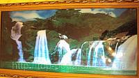 Картина водопад музыкальная с имитации движущегося водопада размер 40*70