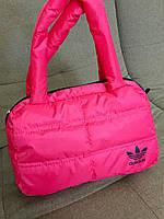 Спортивная женская сумка пуховик Adidas, Nike