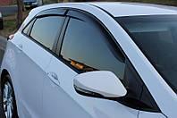Дефлекторы окон Hyundai I30 II Hb 5d 2012 | Ветровики Хендай и30, фото 1