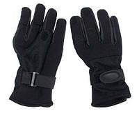 Перчатки из неопрена стрелковые MFH Mesh Black 15883A