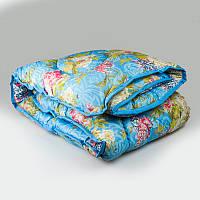 Одеяло полуторное из овечьей шерсти УкрЮгТекстиль  ткань полиэстер 145х210